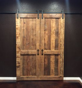 double sliding-barn-door