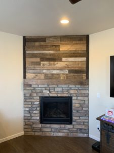 Mantel Fireplace Makeover
